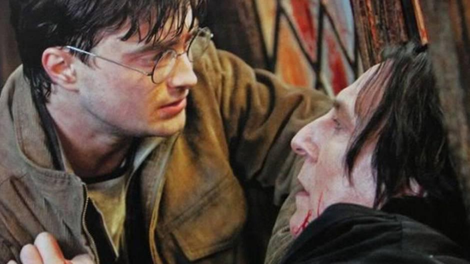 Versteckte Botschaft: Das könnte hinter Professor Snapes ersten Worten an Harry Potter stecken