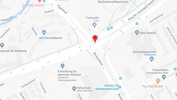 Die Schüsse fielen am 24. Oktoberplein in Utrecht