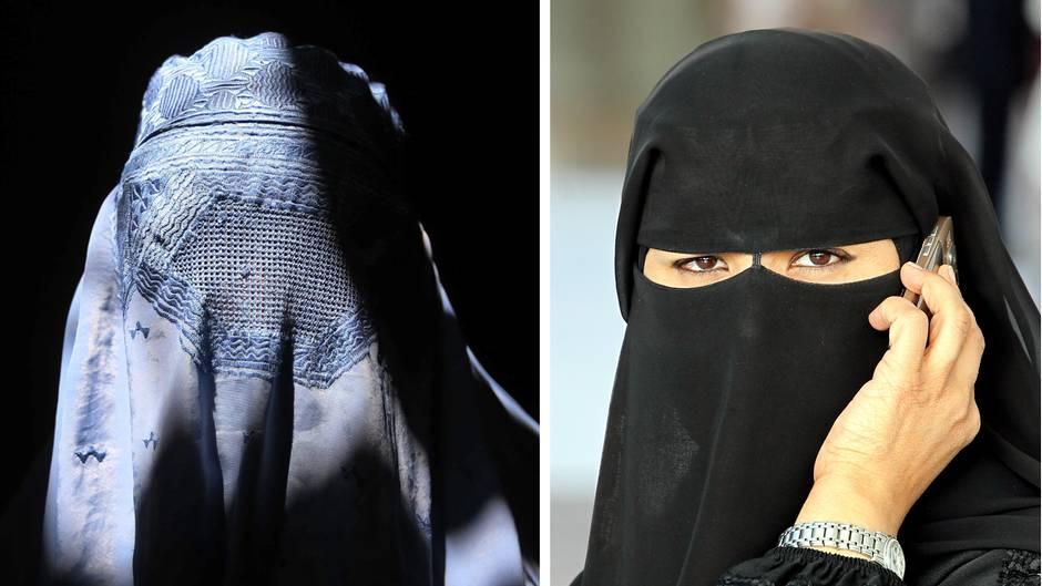 Islamische Körperbedeckung: Burka, Nikab, Hidschab - kennen Sie den Unterschied?