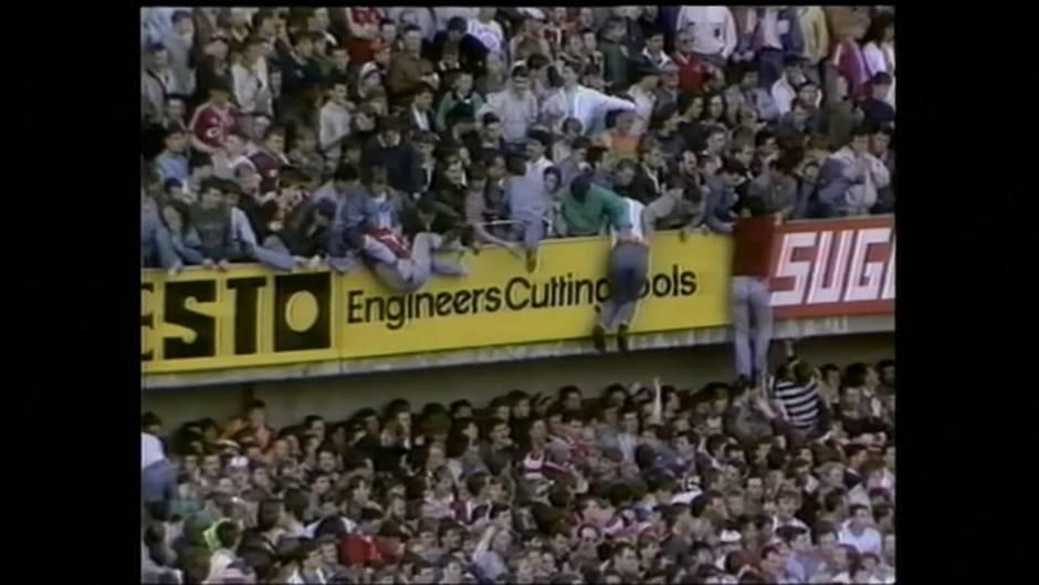 Video: Liverpool erinnert an Katastrophe im Hillsborough-Stadion