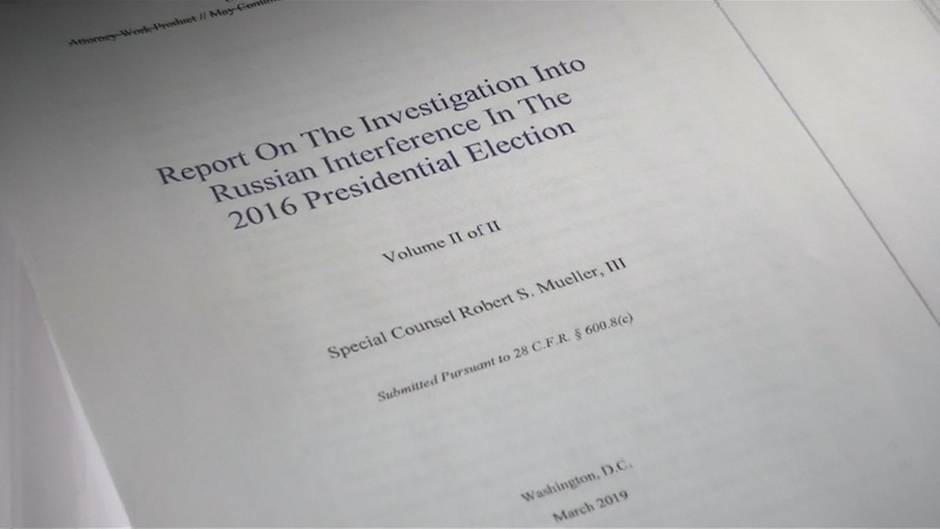 Video: Mueller-Bericht zu Trumps Russland-Affäre veröffentlicht