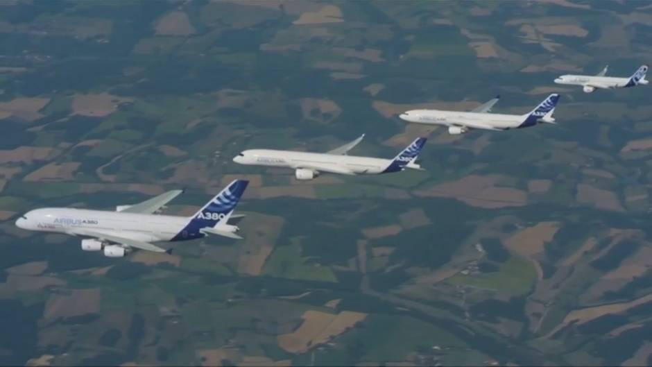 Video: Trump droht EU wegen Airbus mit Strafzöllen