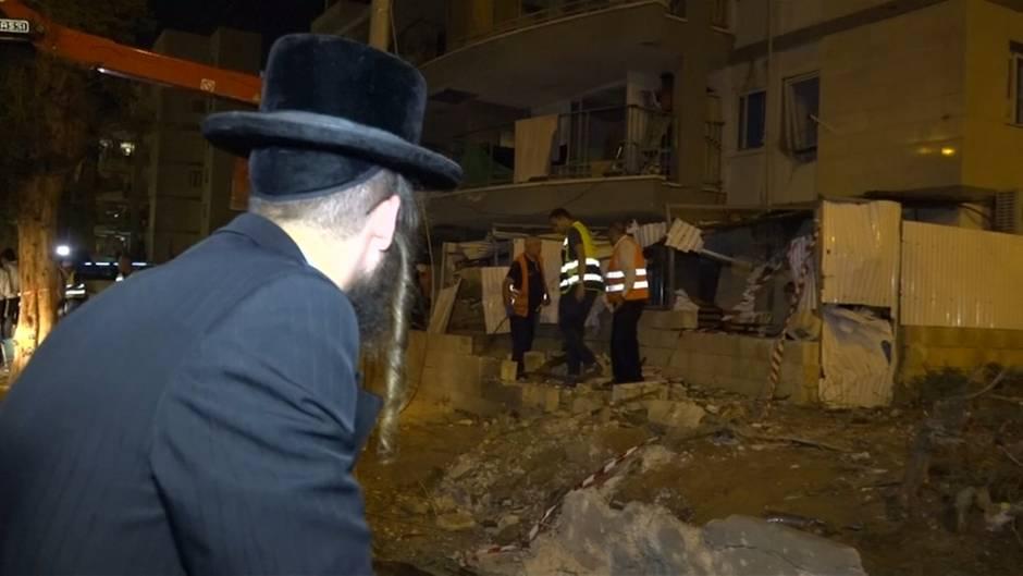 Gazastreifen: Palästinenser verständigen sich nach schweren Luftangriffen auf Waffenstillstand mit Israel