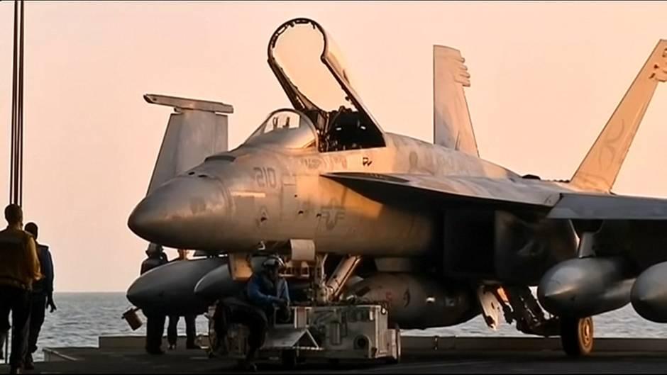 Streit um Atomprogramm: Spannungen mit dem Iran – USA verlegen Flugzeugträger und Bomber in den Nahen Osten