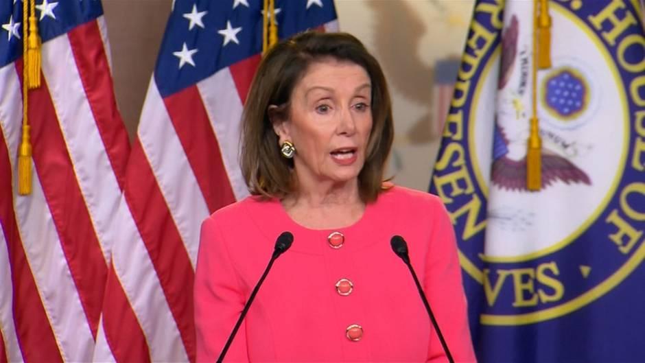 "Mueller Report: ""Justizminister hat gelogen"" Demokraten-Chefin Nancy Pelosi erhebt Vorwürfe gegen William Barr"