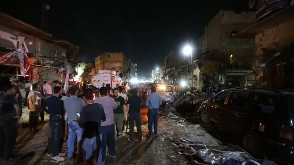Video: Autobombenanschlag im Norden Syriens