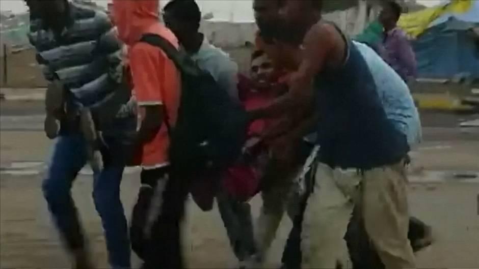 Video: Unruhen im Sudan