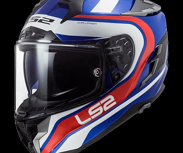 Motorradhelm für den Roller LS2 FF327 CHALLENGER FUSION MR