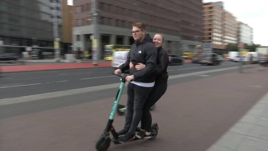 News im Video: E-Scooter in deutschen Städten - Fluch oder Segen?