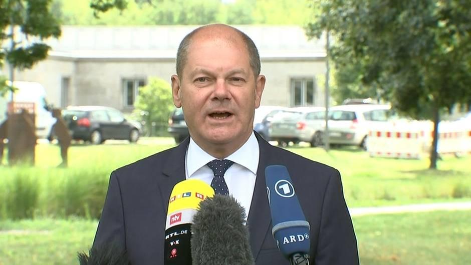 Video: Scholz: Soli-Pläne dürften Konjunktur stützen