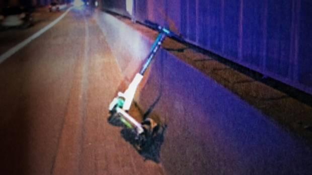 nachrichten deutschland - e-scooter auf autobahn geworfen