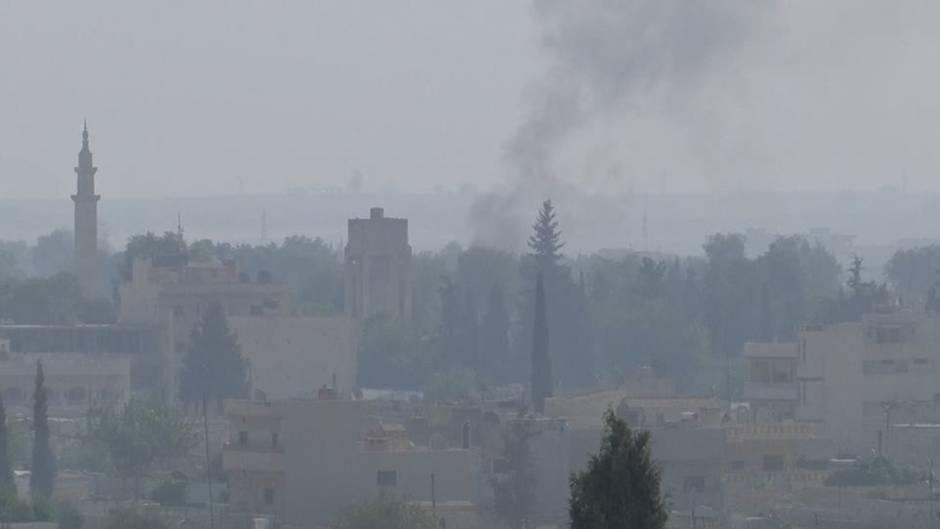 Nach türkischer Offensive: Tausende Menschen in Syrien auf der Flucht