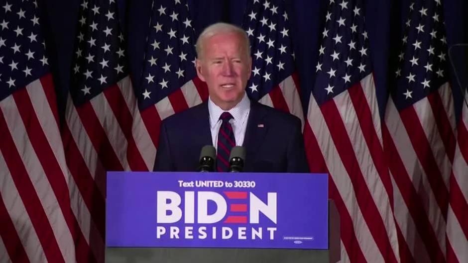 US-Demokrat: Joe Biden fordert Trumps Amtsenthebung