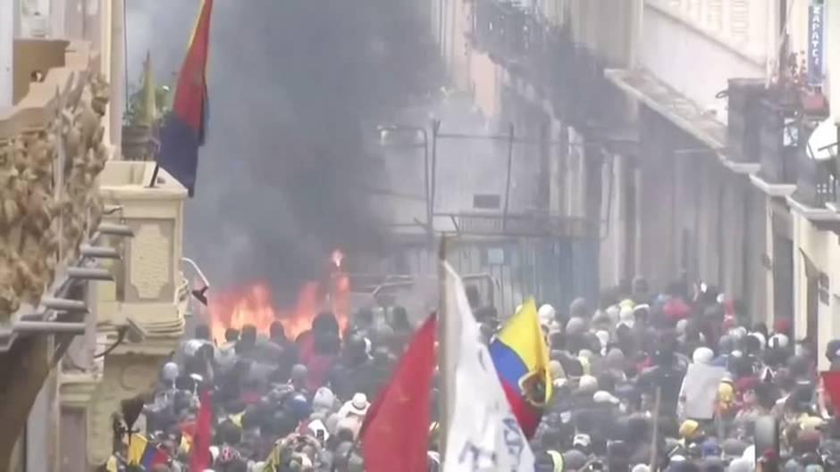 Video: In Ecuador reißen die Proteste gegen die Regierung nicht ab