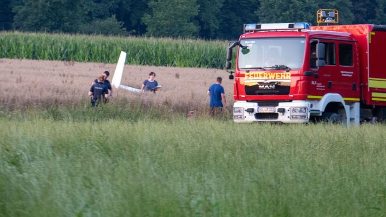 Flugzeugkollision in Schwaben