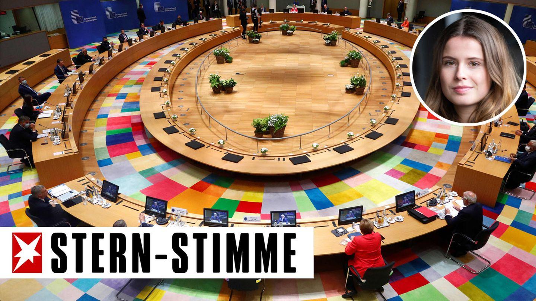 EU in Brüssel; Luisa neubauer
