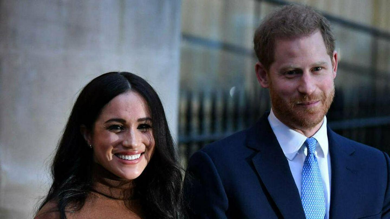 Erste offizielles Porträt von Herzogin Meghan und Prinz Harry seit ihrem Rücktritt als Senior Royals veröffentlicht