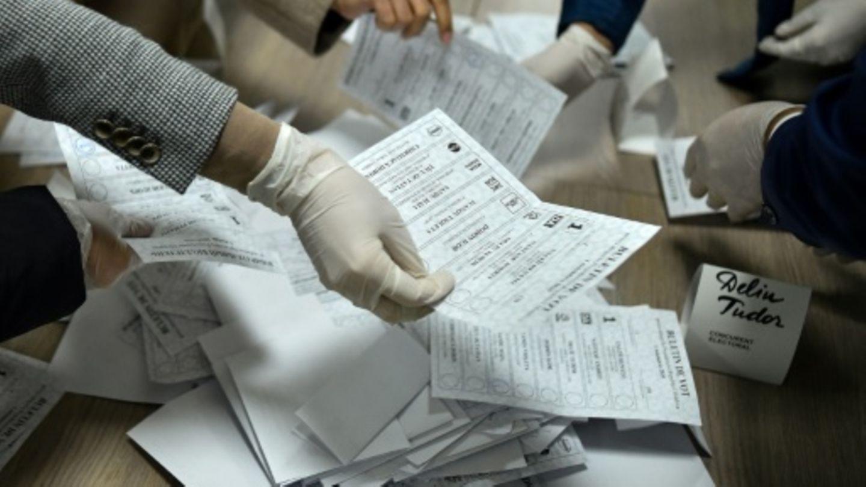 Stimmauszählung in Moldau