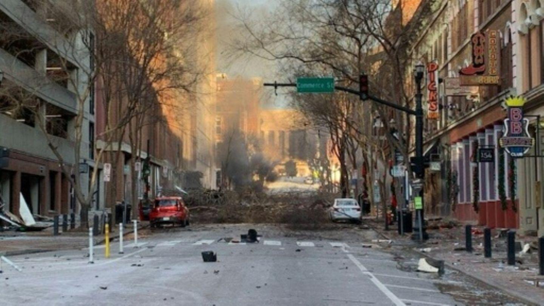 Polizeifotot vom Explosionsort