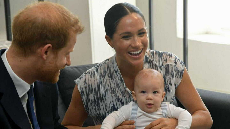 Harry und Meghan wohnen mit Sohn Archie in Kalifornien.