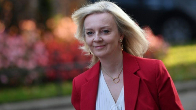 Die britische Handelsministerin Liz Truss