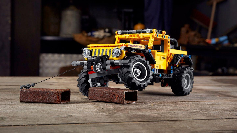 Lego-Neuheiten 2021: Der Jeep Wrangler Rubicon ist eins der ersten Technic-Sets des Jahres