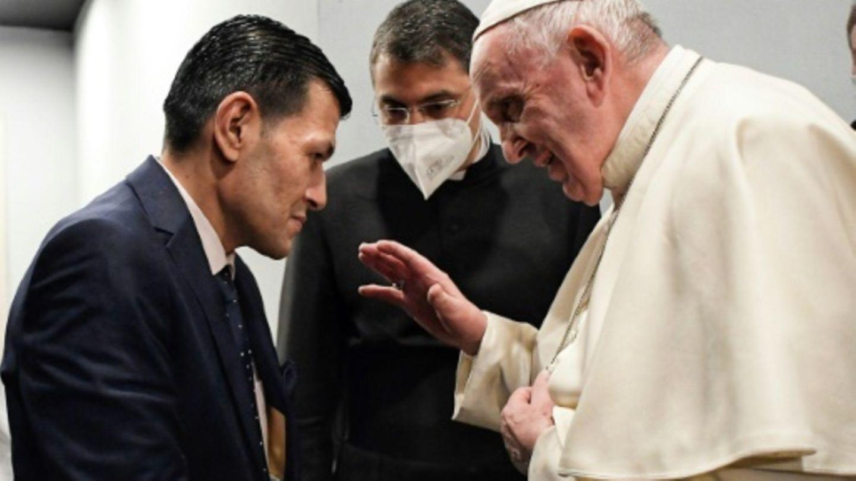 Papst spendet Kurdi seinen Segen