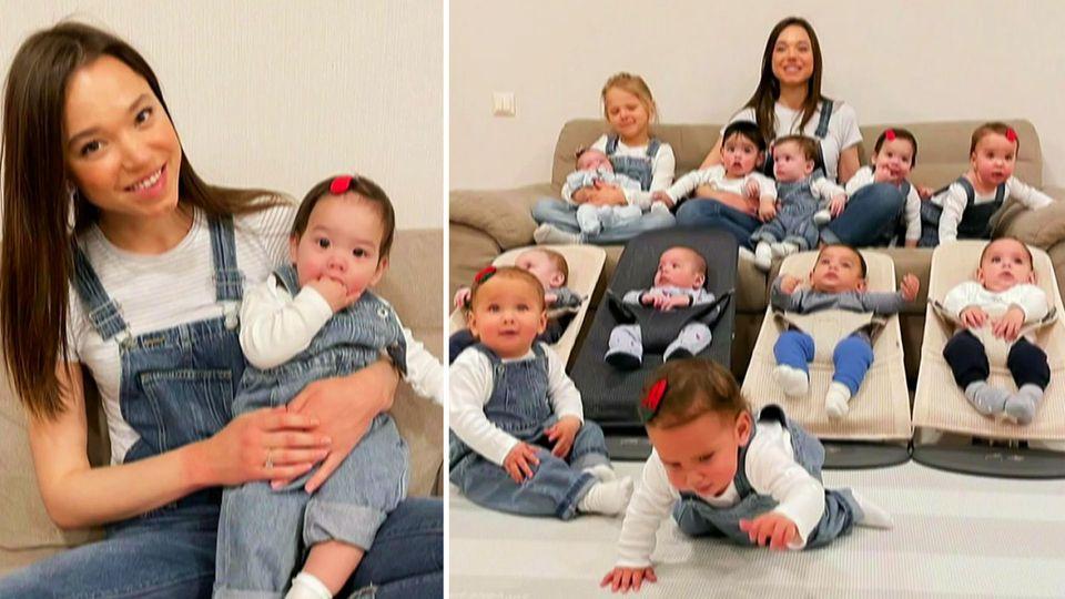 Cristina Ozturk ist 14-fache Mutter und möchte über 100 Kinder
