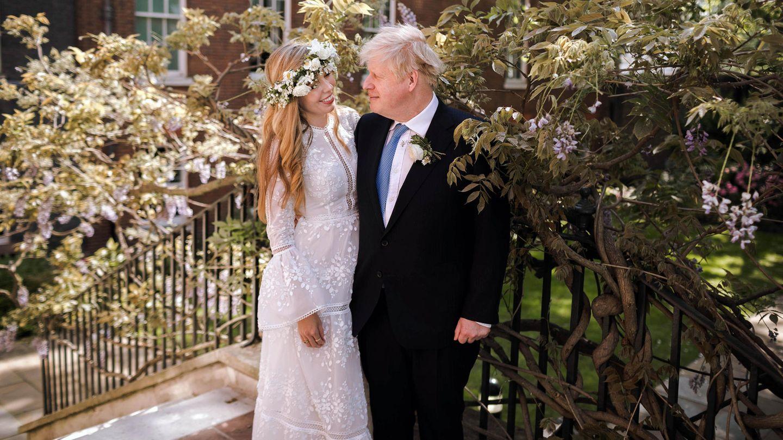 Das offizielle Hochzeitsfoto von Carrie Symonds undBoris Johnson