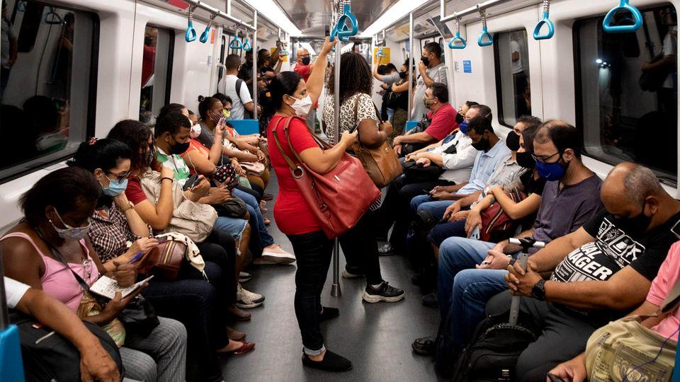 U-Bahn in Rio de Janeiro