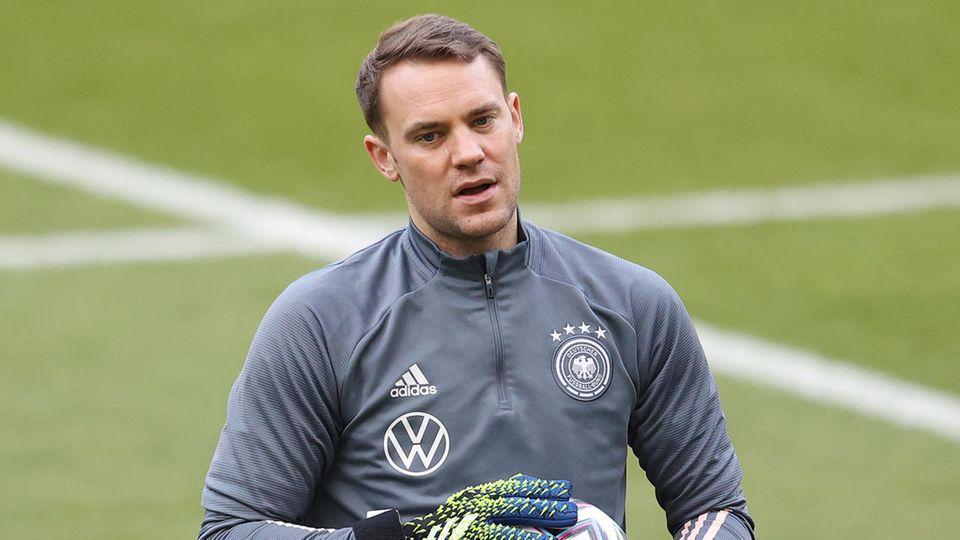 Tor: Manuel Neuer (FC Bayern München), 35 Jahre, 0 Tore- 1. Länderspiel: 2009 gegen Vereinigte Arabische Emirate (7:2)