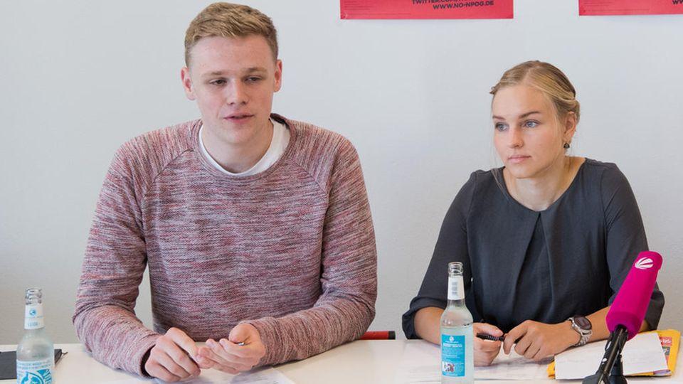 Jakob Blankenburg, 24, SPD. Der Jung-Politiker istJuso-Vorsitzender von Niedersachsen