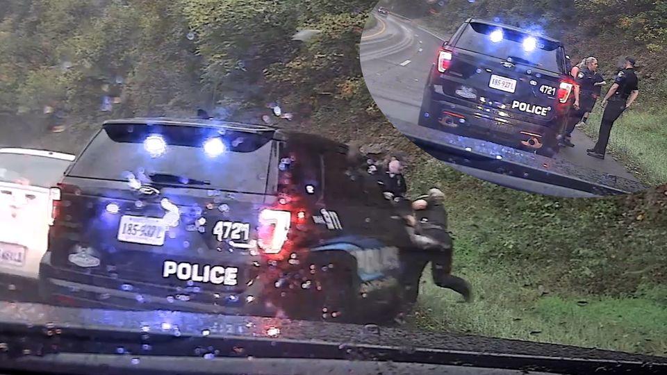 Schutzengel in Uniform: US-Cop rettet seiner Kollegin das Leben – Video geht viral